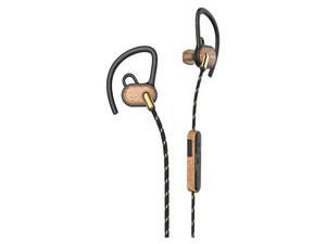 Audífonos con micrófono House of Marley UPRISE, batería recargable, Bluetooth, color negro/Café.