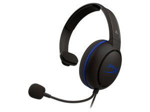 Audífonos tipo diadema Kingston HyperX Cloud Chat Headset PS4 con micrófono, respuesta de frecuencia 50Hz-10,000Hz.
