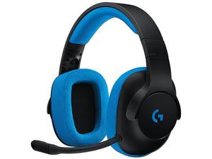 Audífonos con Micrófono Logitech Gaming G233, respuesta de frecuencia 20hz - 20,000Hz, 3.5mm.