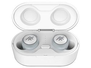 Audífonos internos inalámbricos iFrogz Truly AirTime, con estuche recargable, IPX4 Bluetooth. Color Blanco.