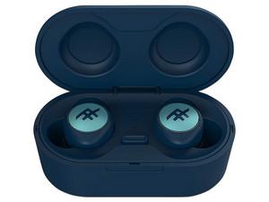 Audífonos internos inalámbricos iFrogz Truly AirTime, con estuche recargable, IPX4 Bluetooth. Color Azul.