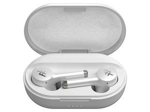 Audífonos internos inalámbricos iFrogz Truly AirTime Pro, con estuche recargable, IPX4, Bluetooth. Color Blanco.