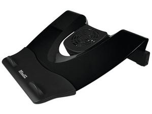 Base para Laptop Klip Xtreme KNS-110B con ventilador y 4 puertos USB. Color Negro.