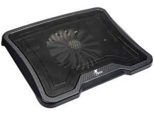 "Base para Laptop Xtech XTA-150 para Laptops de hasta 14"" con 1 ventilador. Color Negro"