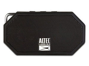 Bocina portátil recargable Altec Lansing H20, Bluetooth. Color Negro.