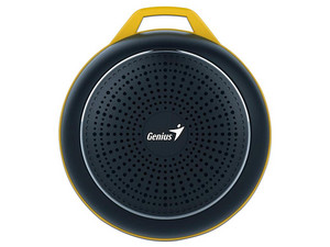 Bocina portátil Genius SP-906BT Plus R2, Batería recargable, Bluetooth, 3.5mm. Color Negro.
