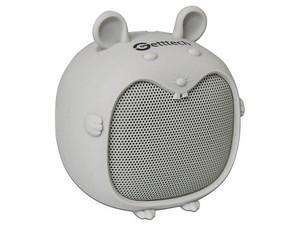 Mini Bocina portatil Getttech Little Mouse, Batería recargable, Bluetooh. Color Gris.