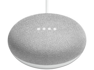 Asistente inteligente Google Home Mini. Color Gris.