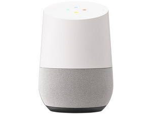 Bocina inteligente Google Home, Wi-Fi (2.4GHz), Color Blanco.