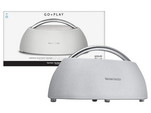 Bocina portátil Harman Kardon Go + Play, Bluetooth. Color Blanco.