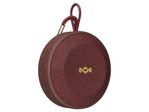 Bocina portátil recargable House Of Marley No Bounds, Bluetooth, Color Rojo.