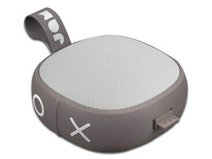 Bocina portátil inalámbrica JAM Audio, Bluetooth, IP67, 3.5mm. Color Gris.