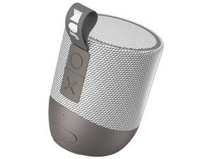 Bocina JAM Audio Double Chill resistente al agua, Bluetooth. Color Gris.