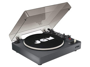 Reproductor de discos de vinilo vinil JAM Spun Out HX-TT400-BK, Bluetooth, 3.5mm.