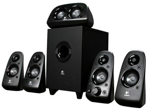 Bocinas Logitech Z506 Surround Sound 5.1