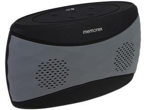 Bocina portátil recargable Memorex Splashproof MW346, Bluetooth, 3.5mm.