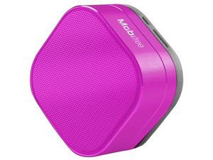 Bocina Portatil Mobifree Urban Kaos MB-916455, Bluetooth, 3.5 mm, Color Rosa.