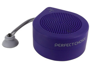 Bocina Inalámbrica Perfect Choice Drop BT, Bluetooth. Color Azul.