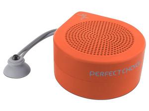 Bocina Inalámbrica Perfect Choice Drop BT, Bluetooth. Color Naranja.