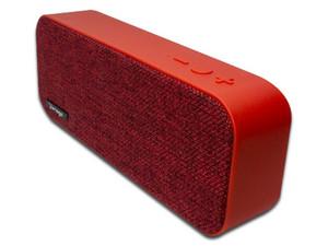 Bocina portátil Recargable Vorago BSP-150, Bluetooth, 3.5mm. Color Rojo.