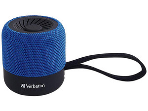 Bocina inalámbrica Verbatim 70229, Bluetooth. Color Azul.