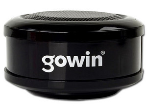 Bocina portatil Gowin Red-301, 3.5mm. Color Negra.
