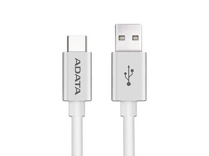 Cable ADATA de USB 2.0 a USB-C de 1m. Color Plata.