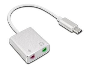 """Adaptador BRobotix de USB-C a Audio Jack 3.5\"""" (M-H)."""