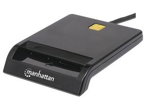 Lector de tarjetas Manhattan 102049, USB 2.0.
