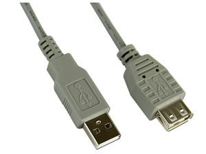 Extensión de cable USB, 4.5m, entrada A(m) A(h)