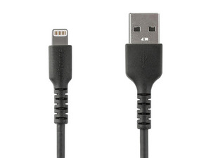 Cable de USB 2.0 (macho) a Lightning (macho), 2m. Color Negro.