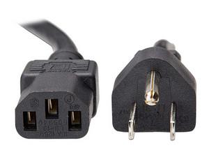 Cable de energía Lenovo 90Y3016, 10A/120V, C13 a NEMA 5-15P de 2.8m. Color Negro