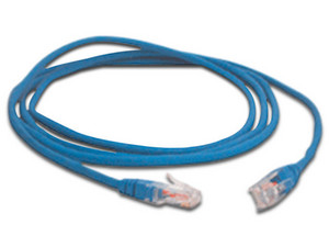 Cable de red, Cat6, UTP, RJ-45 (M-M), 2m. Color Azul.