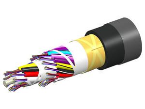 Cable de Red CommScope 760086355 de Fibra Óptica 6 Hilos Para Exteriores e Interiores, G.652.D, G.657.A1, OS2. (Precio por metro)