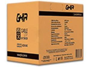 Bobina de Cable GHIA Cat5e (UTP) Caja con 305 m. Color Negro.