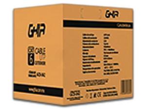 Bobina de Cable Cat6 (UTP) Caja con 305 m, 23 AWG, Solido. Color Negro.