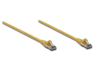 Cable de Red Intellinet Cat 6 UTP, 1.0m. Color Amarillo.