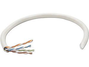 Bobina de Cable IntelliNet Cat6 (UTP), 305 m, Gris, 23 AWG.