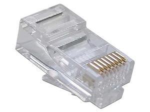 Plugs RJ-45 SBE TECH, Cat 5e, 50 piezas.