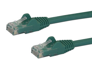 Cable de Red STARTECH Cat6 UTP, 1m, Color Verde.