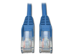 Cable de red Tripplite, Cat5e, RJ-45 Macho / RJ-45 Macho, 90 cm, Azul.