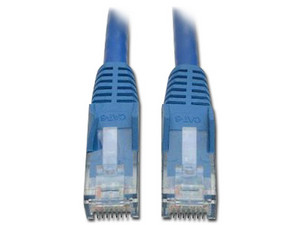 Paquete de 50 cables de red Tripp Lite RJ-45 (M-M), Cat6 de 1.52m. Color Azul.
