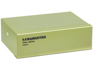 Video Splitter VGA Manhattan 2 puertos.