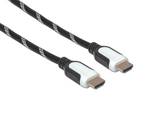 Cable de video Manhattan HDMI (M-M) de 5m. Color Negro/Blanco.