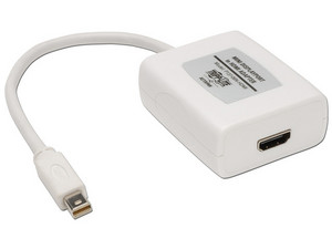 Adaptador TrippLite Mini Displayport a HDMI para Mac.
