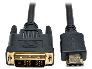 Cable de Video TrippLite HDMI Macho a DVI-D Macho, 3.05 m.