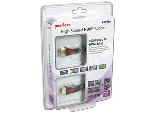 Cable Peerless ALPHA HDMI 1.3b M-M, 2.0m