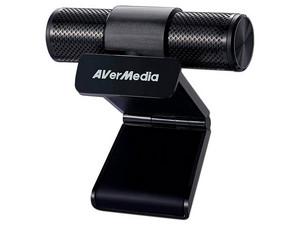 Webcam Full HD AverMedia , USB 2.0, 2MP, Color Negro.