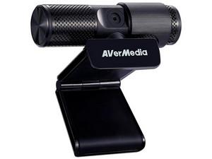 Cámara Web Avermedia PW313, Video 1080p con Micrófono integrado.