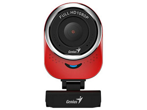 Cámara Web HD Genius QCam 6000, Video Full HD 1080p, Micrófono doble integrado, USB.